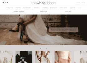 thewhiteribbon.myshopify.com