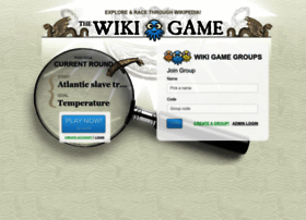 thewikigame.com