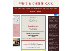 thewineandcheesecask.com