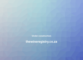 thewineregistry.co.za