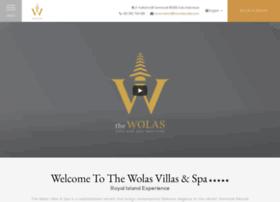 thewolasvillas.com