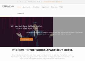 theworksapartmenthotel.com