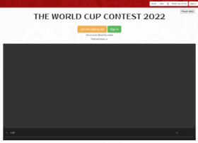 theworldcupcontest.com