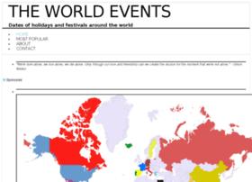 theworldevents.com