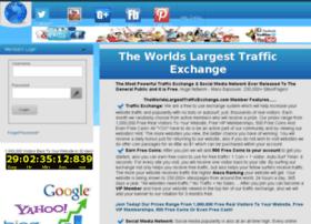 theworldslargesttrafficexchange.com