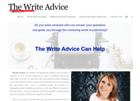 thewriteadvice.com