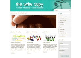 thewritecopy.co.uk