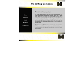 thewritingcompanyethiopia.com