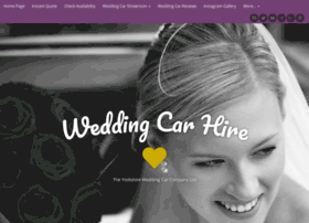 theyorkshireweddingcarcompany.com