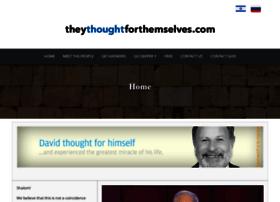 theythoughtforthemselves.com
