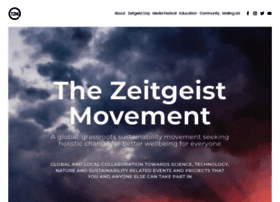 thezeitgeistmovement.com