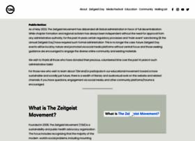 thezeitgeistmovement.com