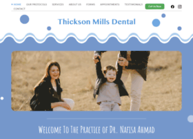 thicksonmillsdental.com