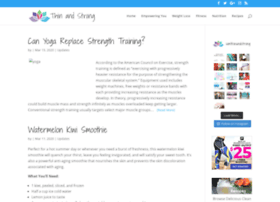 thinandstrong.com