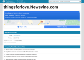 thingsforlove.newsvine.com.ipaddress.com