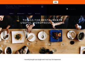 thingsforrestaurants.com