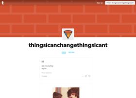 thingsicanchangethingsicant.tumblr.com