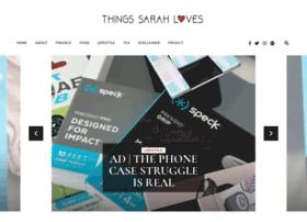 thingssarahloves.co.uk