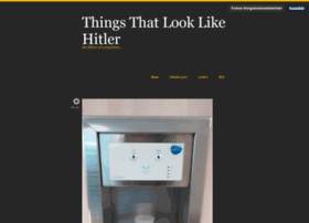 thingsthatlooklikehitler.com