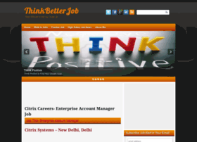 thinkbetterjob.blogspot.in