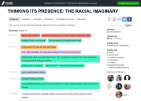 thinkingitspresencetheracia2015.sched.org