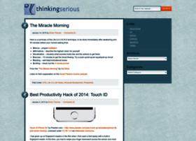 thinkingserious.com