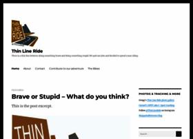 thinlineride.wordpress.com