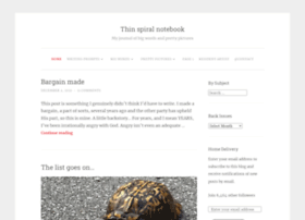 thinspiralnotebook.wordpress.com