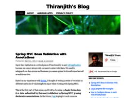 thiranjith.com