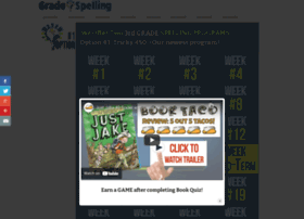 thirdgradespelling.com