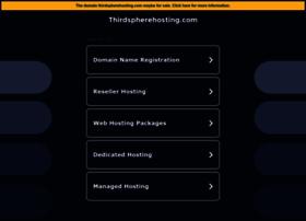 thirdspherehosting.com