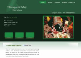 thirupathibalajidarshan.com