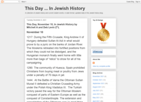 thisdayinjewishhistory.blogspot.com