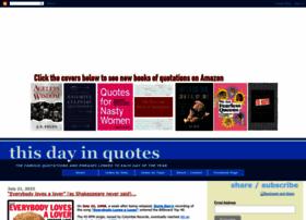 thisdayinquotes.com