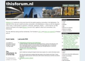 thisforum.nl