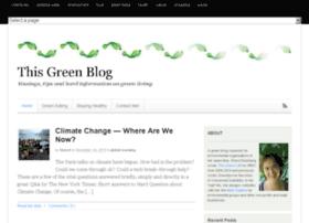 thisgreenblog.com