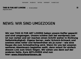 thisisforartlovers.wordpress.com