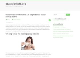 thisisourearth.org