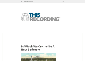 thisrecording.wordpress.com