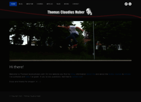 thomasclaudiushuber.com
