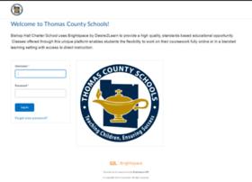 thomascounty.desire2learn.com