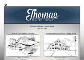 thomasfuneralhomes.com