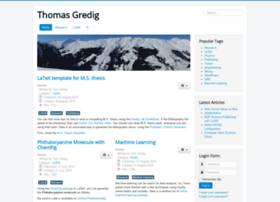 thomasgredig.com
