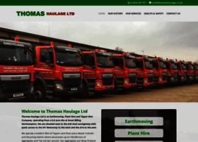 thomashaulage.co.uk