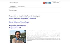thomaspogge.com