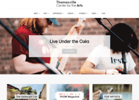 thomasvillearts.org