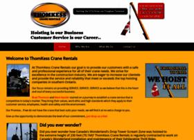 thomkesscranerentals.com