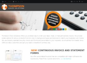 thompsonchecksolutions.com