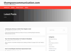 thompsoncommunication.com