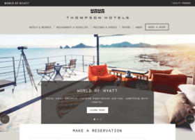 thompsonhotels.com